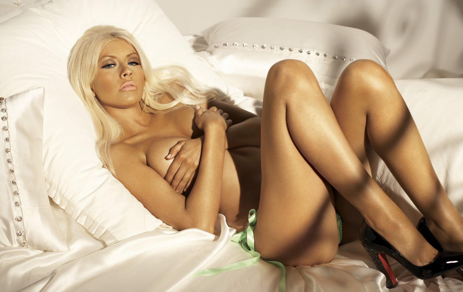 Christina Aguilera Maxim Photoshoot